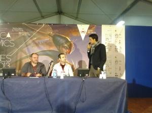 Da sinistra: Andrea Sfiligoi, Lorenzo Sartori, Emanuele Vietina