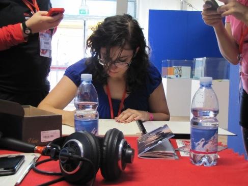 Mirka Andolfo ai microfoni di Mercury Comics